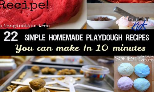 22 Simple Homemade Playdough Recipes You Can Make In 10 Minutes