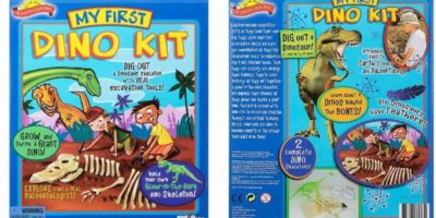 Scientific Explorer My First Dino Kit: One of the best kits for young kids.