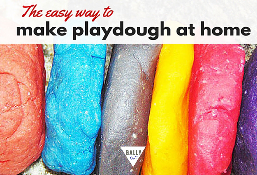 Make playdough at home with tartar . Quick and easy recipe with video instructions.