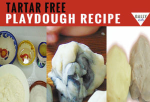 playdough recipe without cream of tartar. Yields a very soft, smooth and pliable dough. via @gallykids
