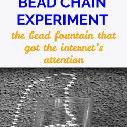 Amazing Bead Chain Experiment – The Science Experiment That Got The Internet's Attention