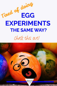 Egg experiments - Sick and tired of boring egg experiments? This one's pretty cool.