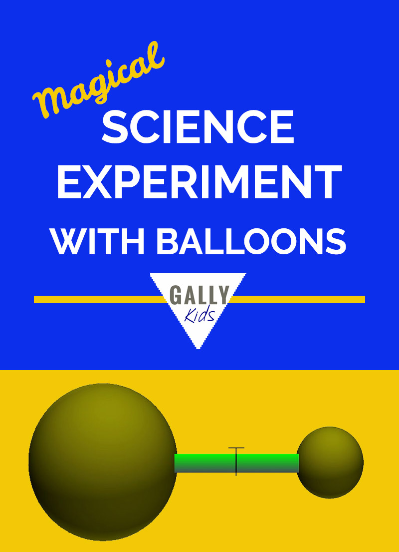 Science Experiment With Balloons - A balloon experiment that will leave you scratching your head.