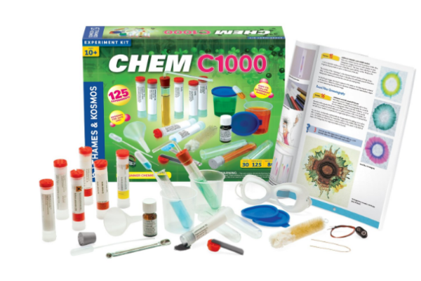 Chem C1000 Chemistry Lab- Everything a kids needs to have his own lab at home.