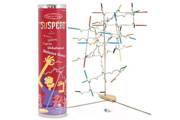 Melissa and Doug Suspend Game.. Fun game kids can play to learn more about physics.