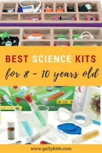 Best Science Kits for 8 - 10 years old. From chemistry sets to robot kits.