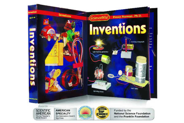 Science Whiz invention kit for kids - Make something out of nothing. Kids learn how to make a generator, radio and telegraphs using things they can find in the house.