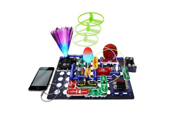 08d69c3e4 Snap Circuits Lights Electronics Discovery Kit - a cool science kit for  older kids to learn