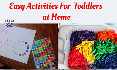Fun Activities For Toddlers At Home So Easy You Can Do Them Right Now