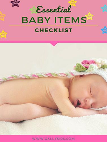 Essential Baby Items Checklist