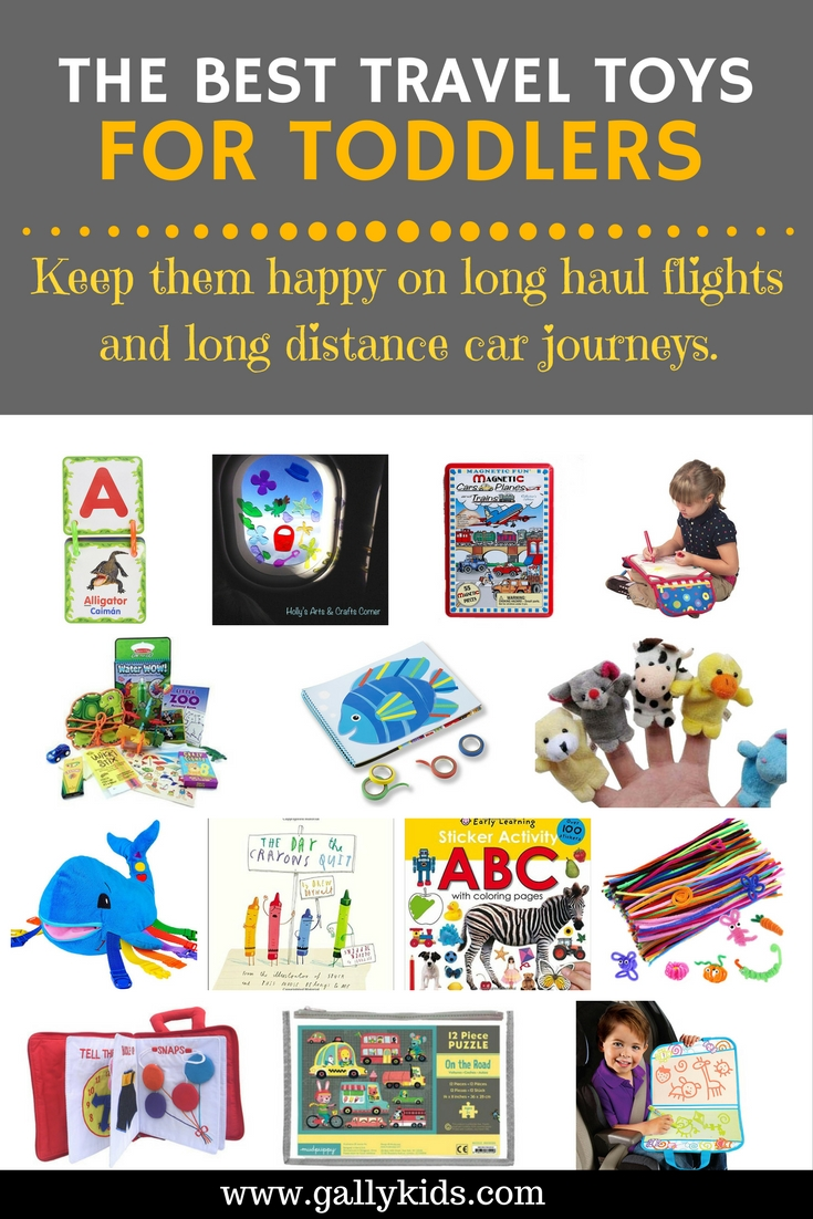 The Best Travel Toys For Toddlers For Airplane And Car