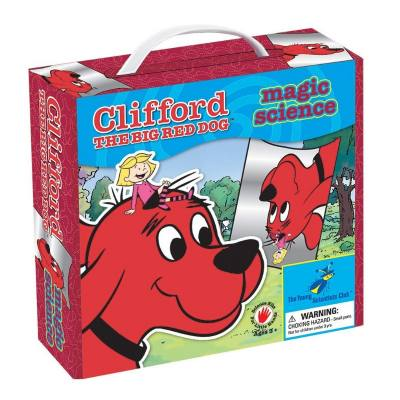 Clifford Magic Science kit - Lots of fun activities are included in this Magic Science kit. Kids learn how to make a kaleidoscope, crystal and tornado in a bottle (among others!)