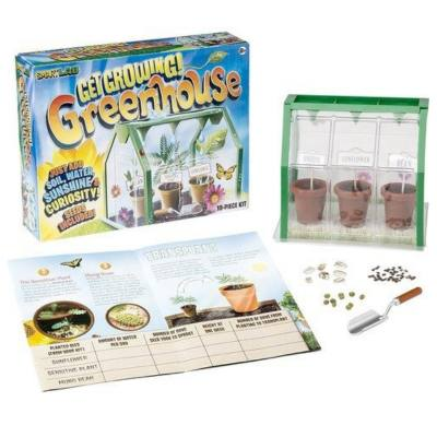 Get growing Greenhouse by Smart Labs - A simple, easy and fun experiment for kids to know more about how plants grow in a greenhouse.  Fun biology experiment best done in the Spring!