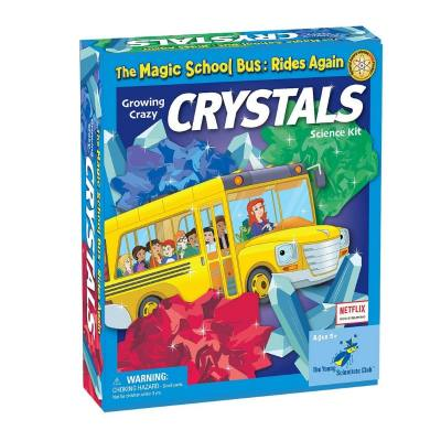 Magic Crystals Growing crazy cystals science kit by The Magic School Bus - this includes everything your child needs to make his very own crystals at home