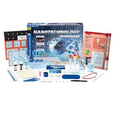 explore the wonderful small world of nanotechnology with this kit. This isn't just a toy. This is a STEM kit that opens kids horizons to the world of Nanotechnology