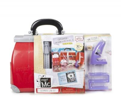 Project Mc2 Ultimate Lab Kit - has everything your future scientist needs to do Science experiments at home. It also comes with a fully functional microscope.