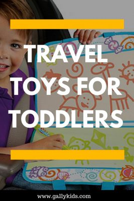 Tested and toddler-approved toys for travel. Great for long haul flights and long distance car journeys.