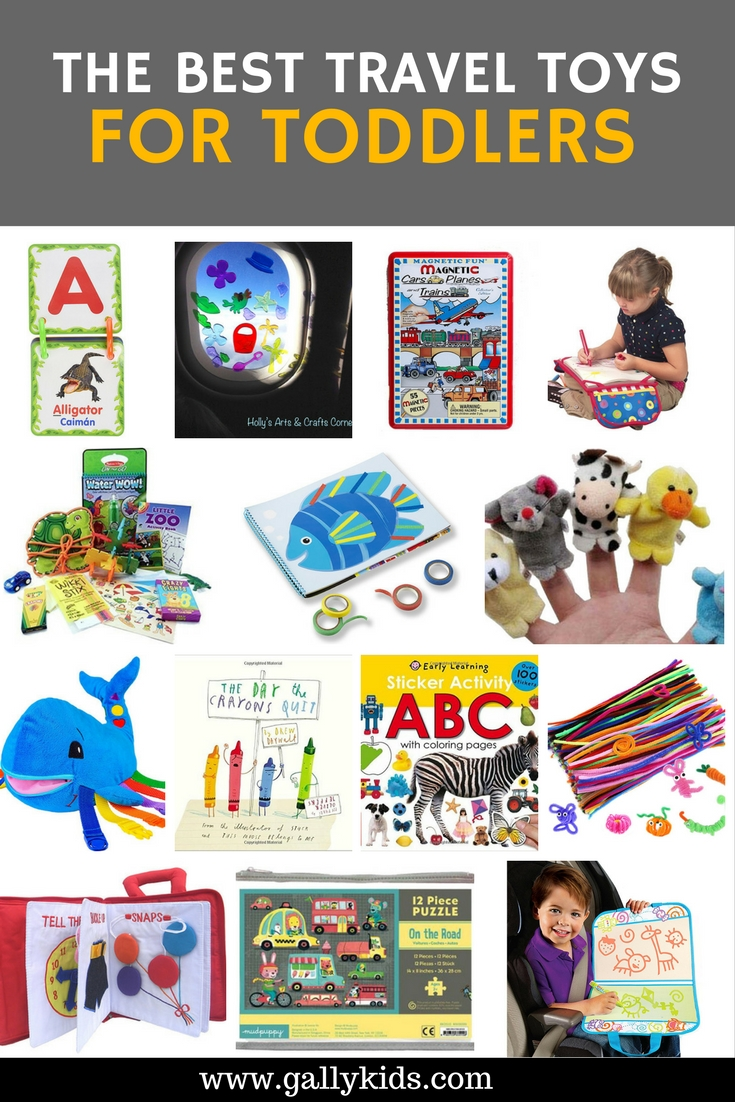 Going on a long haul flight? Make your toddler happy with these fun toddler travel toys.