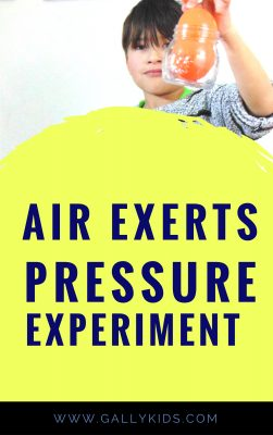 Can you carry a glass jar with a balloon? A fun quick science activity for kids to know how air exerts pressure.