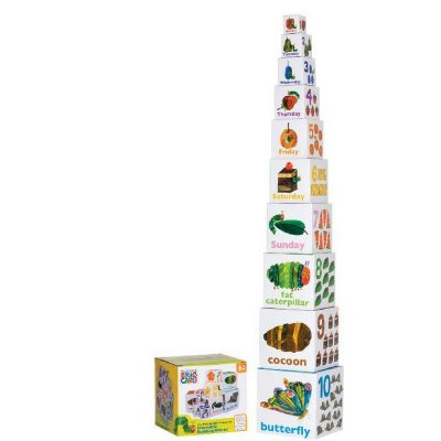 The Hungry Caterpillar tower block for babies.