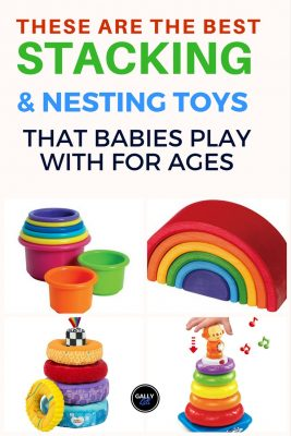 This list includes top-rated baby stacking toys grouped according to stacking toys with music, cups, rings or boxes. Choose the best one for your baby.