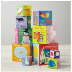 Stacking Blocks by Melissa & Doug. Lovely colors and pictures.