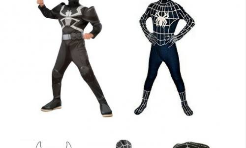Best Black Spiderman Kids Costumes – Venom-Symbiote Costume That Rocks!