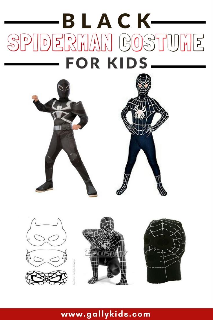 The Venom symbiote alter-ego. a black spiderman costume that a true Spiderman fan will recognize