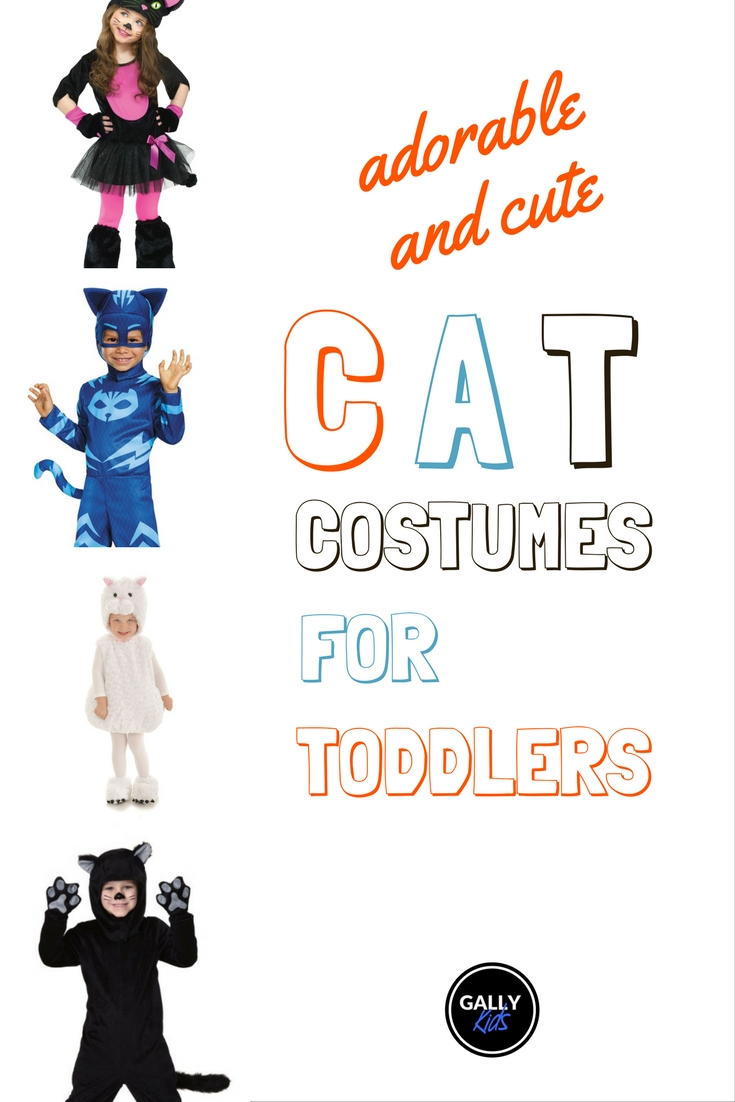 Five of the most adorable cat costumes that fit toddler girls and boys. Whichever cat color you want, it's here.