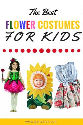 Cute costumes for babies, toddlers and older kids. Check out this list of flower costumes for kids. Lots of great ideas with video instructions on how to diy it.