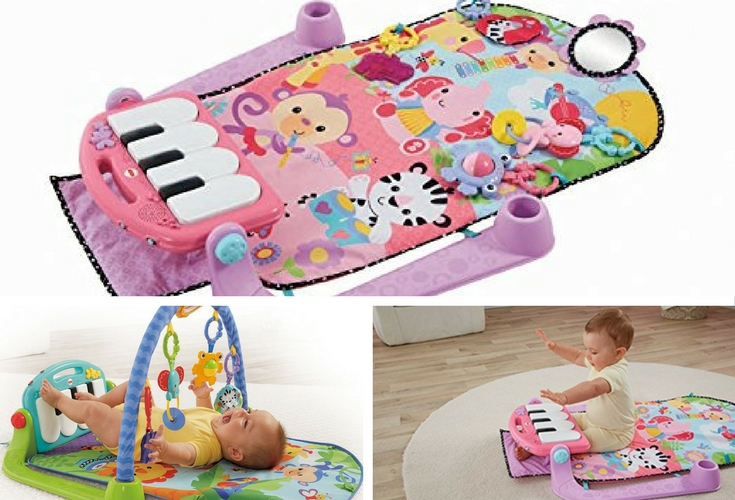 A musical mat or gym. One of the few toys you'll value as a parent when you have a newborn or infant. Keeps him / her entertained on tummy time.