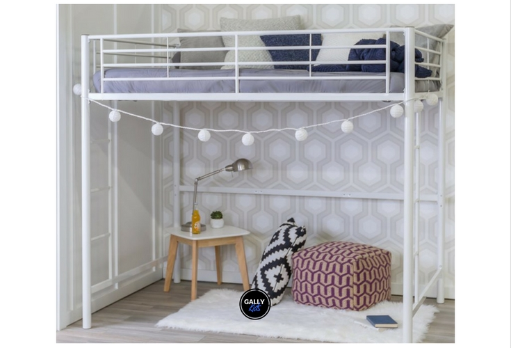 The perfect solution to small rooms. No desk but the price is affordable.