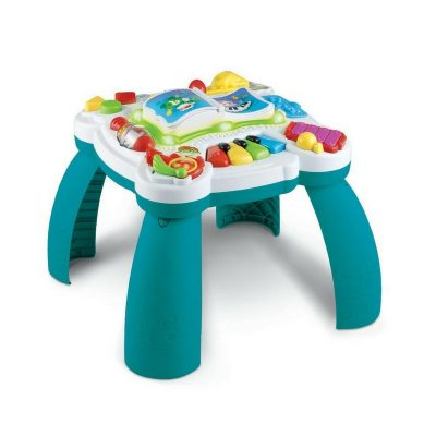 Learn and Groove Musical Table Activity Center. This has removable legs so it can grow with your baby.