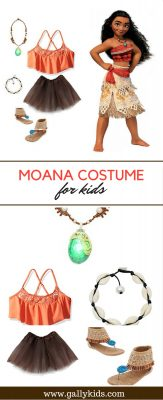 A Moana-like costume for Halloween and pretend play.