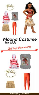 Mix and match some clothes, throw in a raffia skirt for a warm Moana costume