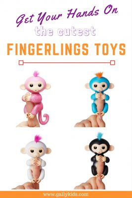 Fingerlings Toys - from baby to glitter monkeys to jungle playsets. Your kids are going to love these robotic toys!