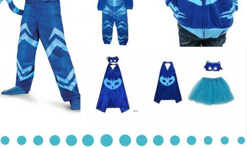 Super Cute Blue Catboy Costume For Halloween: Inspired By PJ Masks