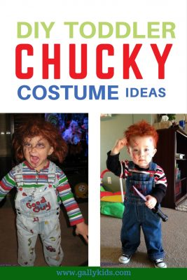 Chucky costume Toddlers. Some may find it creepy but some find the humor in it. Creepily funny and cute, is it?