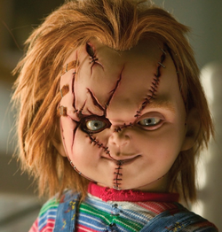 Here's Chucky. Is your toddler going as one this Halloween?