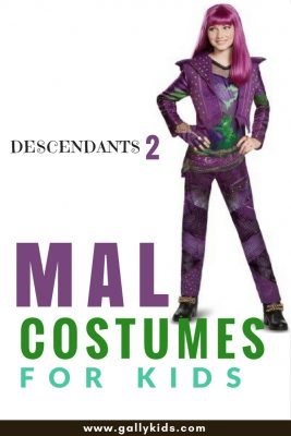 Kids are going to love this Mal costume. so cute