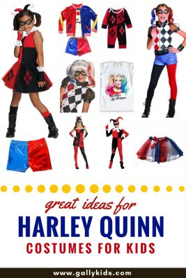 Some great ideas to make a Harley Quinn costume. Black or red, blue or red, whichever one you prefer , it's on here. Also includes some video instructions on making this costume yourself