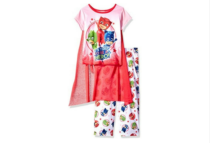 PJ Masks Owlette Pajamas. This is what your little heroine needs to save the world at night :-)