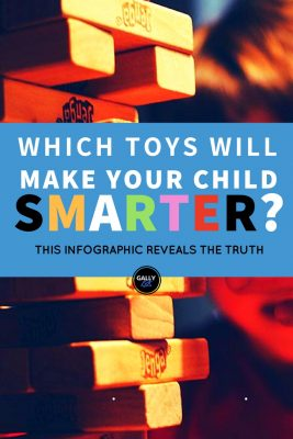 Which toys will make your child smarter? this infographic reveals the truth on educational toys and cognitive development in children.