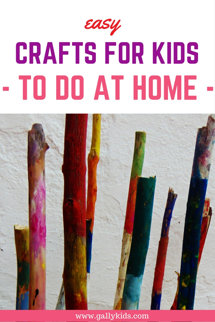 List of arts and crafts kids activities that you can do with your kids.