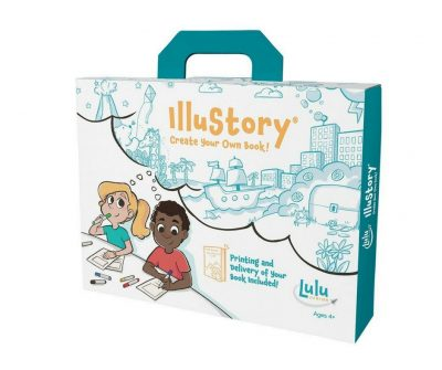 Bookmaking kit for kids. Everything needed to make their own books. Send book back and have a professionally published book.