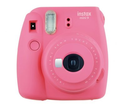 Fujifilm Instax camera for kids. Works like a polaroid and can be used for selfies, too.