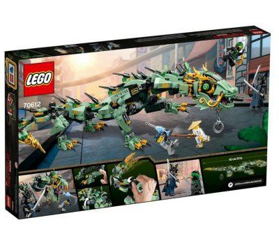 Lego Ninjago Dragon : 544 pieces
