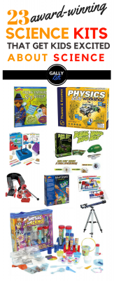 Award-winning STEM toys that are great for getting kids interested in Science.