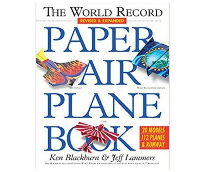 MOre than 100 different paper airplanes to fold.
