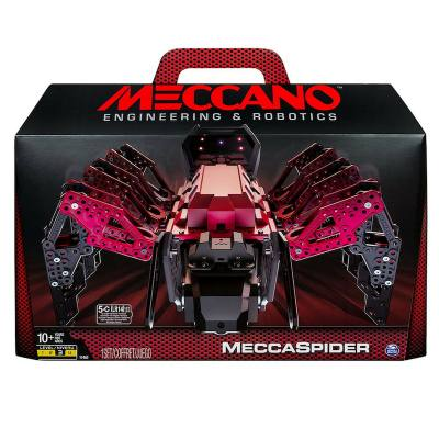 A robot kit for 10 year olds. Your child gets to build the robot-spider and then codes the program that makes it do things. Fun STEM toy for the boy who likes tinkering